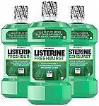 1-L Listerine Antiseptic Mouthwash (Freshburst)