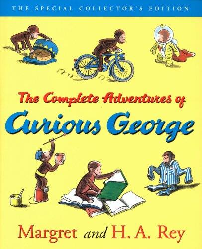 The Complete Adventures of Curious George (Kindle eBook)