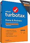 TurboTax Home & Business 2020 Tax Software (Federal & State)