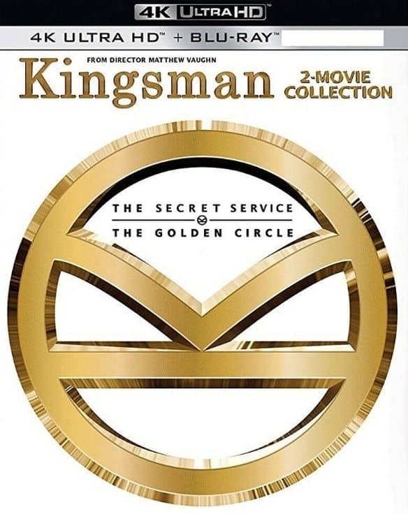 Target: 20% Off Movies: Kingsman 2-Movie Collection (4K UHD + Blu-ray + Digital)
