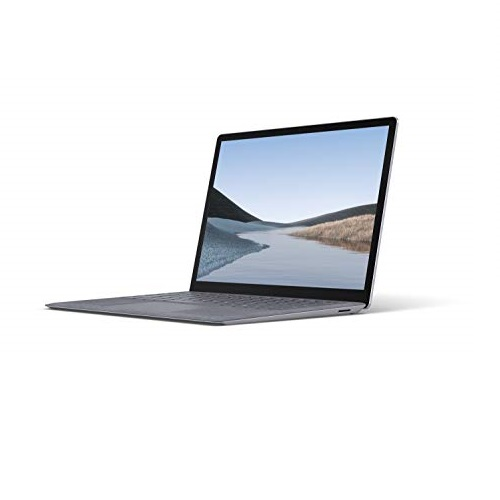 """Microsoft Surface Laptop 3 – 13.5"""" Touch-Screen – Intel Core i7 - 16GB Memory - 512GB Solid State Drive (Latest Model) – Platinum with Alcantara"""