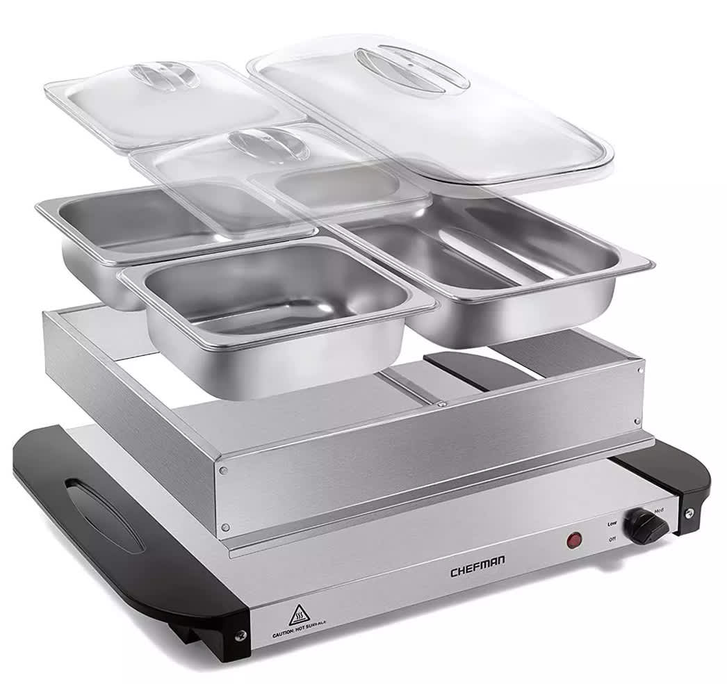 Chefman Electric Buffet Server and Warming Tray