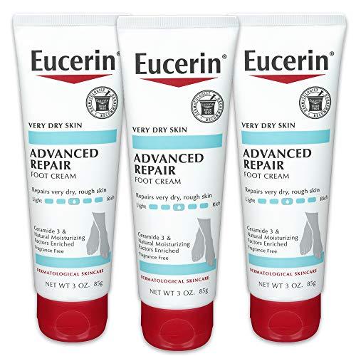 Eucerin 皮肤修复 护足霜,3 oz/支,共3支