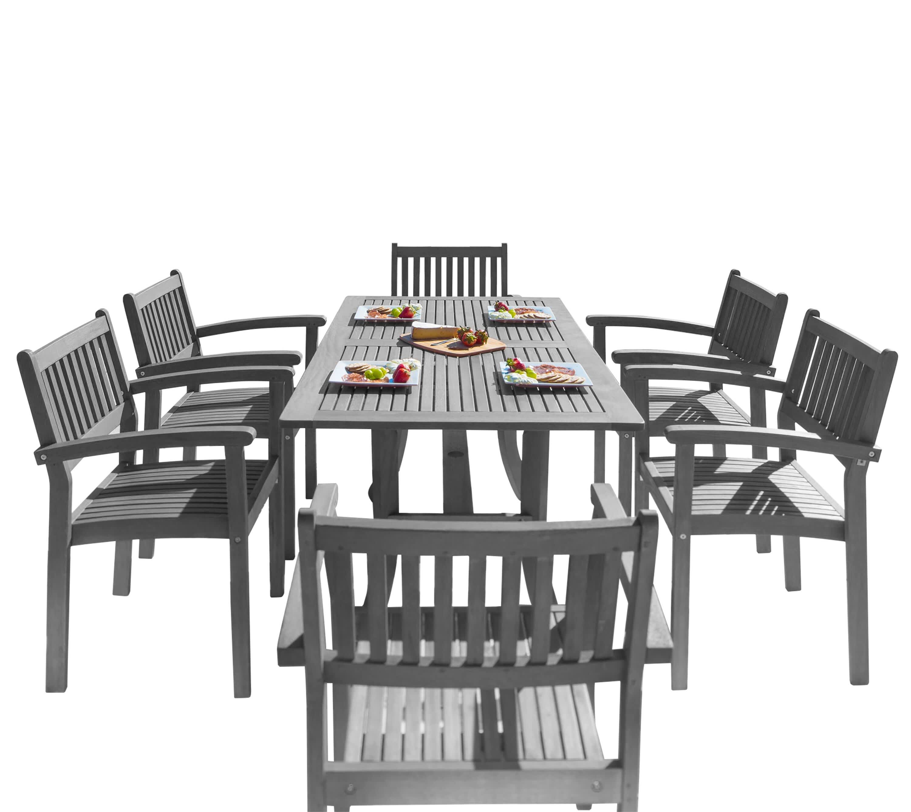 Sol 72 Outdoor Manchester 7-Piece Dining Set
