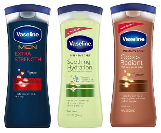 10-Oz Vaseline Body Lotions (Various)