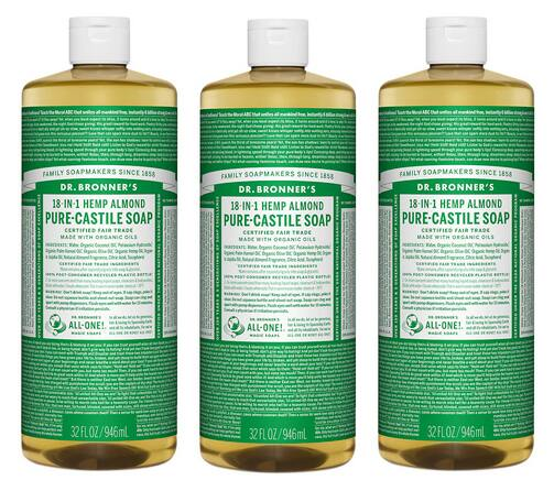 32-Oz Dr. Bronner's Pure Castile Soap (Various Scents)