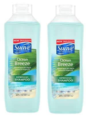 30-Oz Suave Essentials Shampoo or Conditioner (Ocean Breeze)