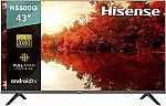 """Hisense 43"""" 43H5500G Full HD Smart Android TV with Voice Remote"""