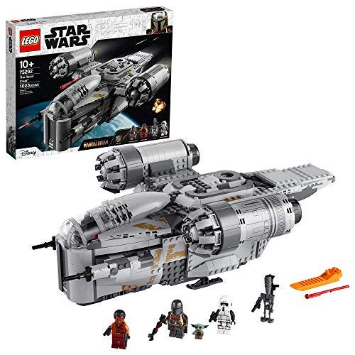 史低价!LEGO乐高 Star Wars星球大战系列75292 曼达洛人:剃刀冠号