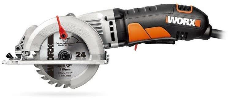 "Worx 4.5"" Compact Circular Saw"