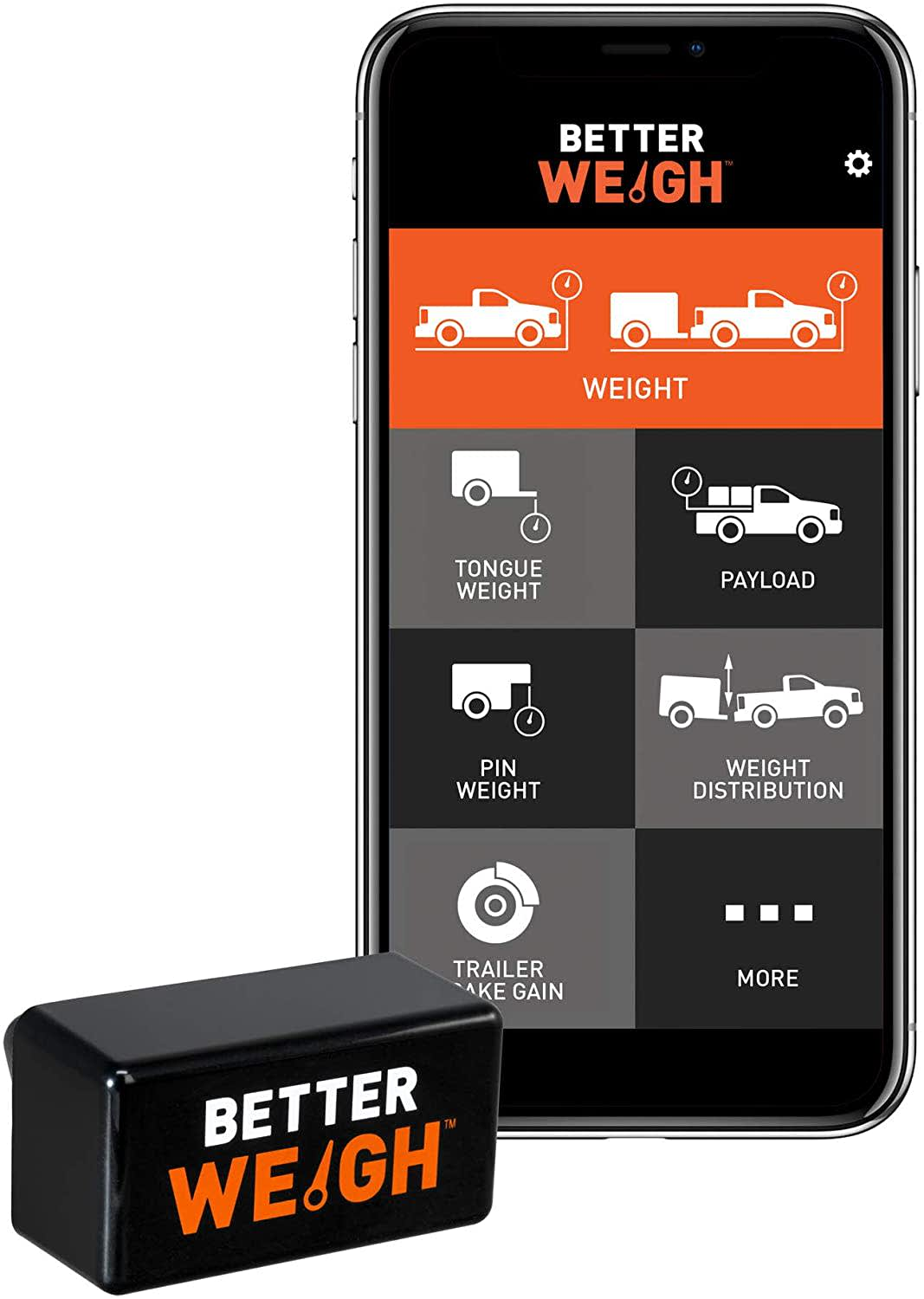 Curt BetterWeigh Mobile Towing Scale for Android and iOS