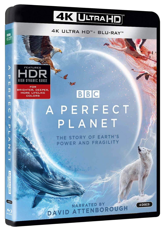 BBC Earth: Perfect Planet Pre-Order (4K Ultra HD + Blu-ray)