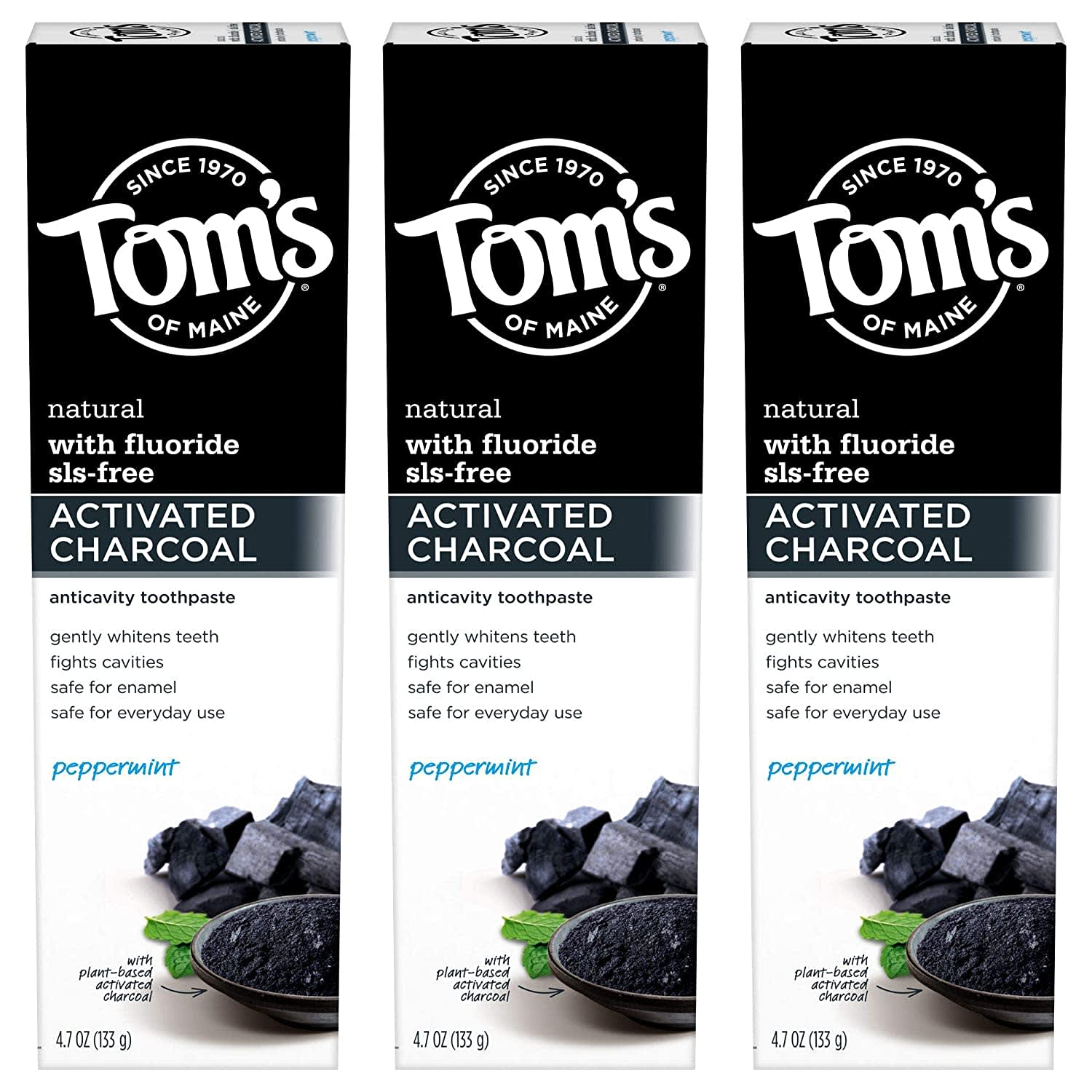 Tom's of Maine Toothpaste and Deodorants at Amazon