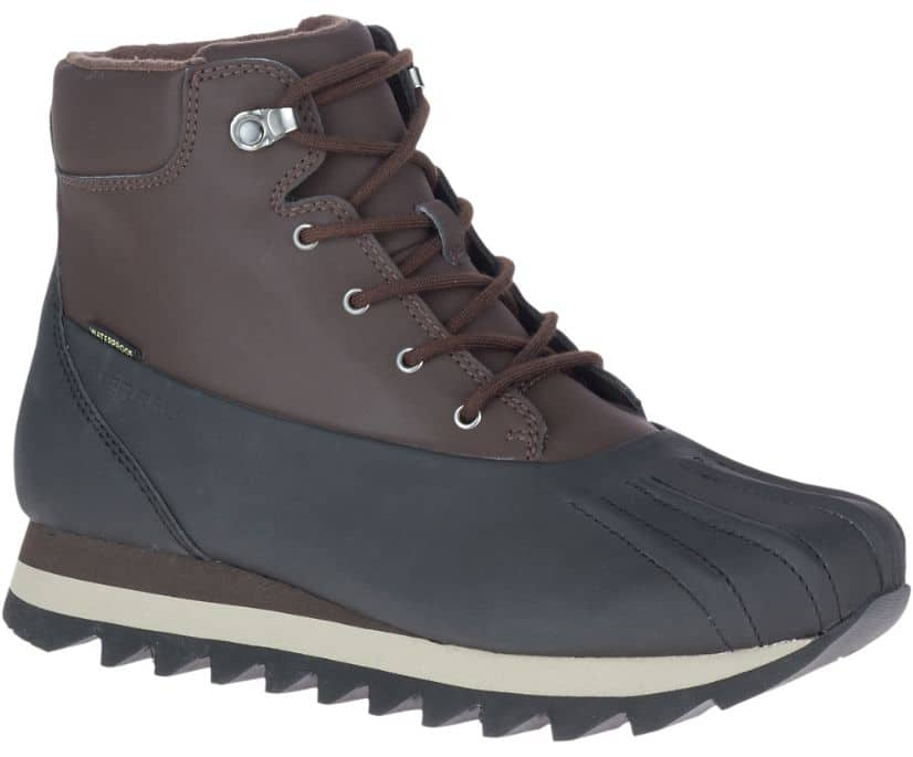 Merrell Men's Alpine Brevig Polar Waterproof Boots (Black or Espresso)