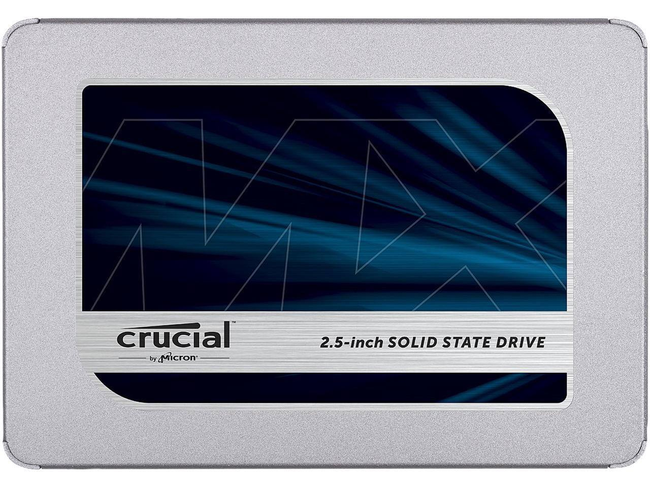 "1TB Crucial MX500 2.5"" 3D NAND SATA III Internal Solid State Drive"