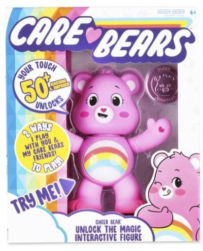 "Care Bears 5"" Interactive Figure w/ 50+ Reactions & Surprises"