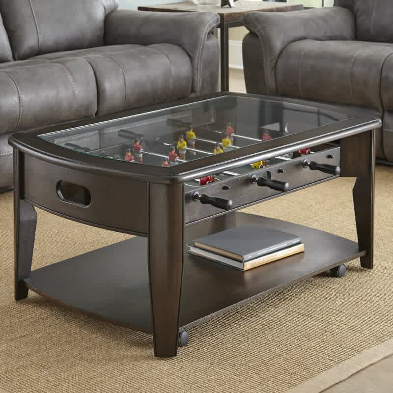 "Red Barrel Studio Weist 45"" Foosball Coffee Table"