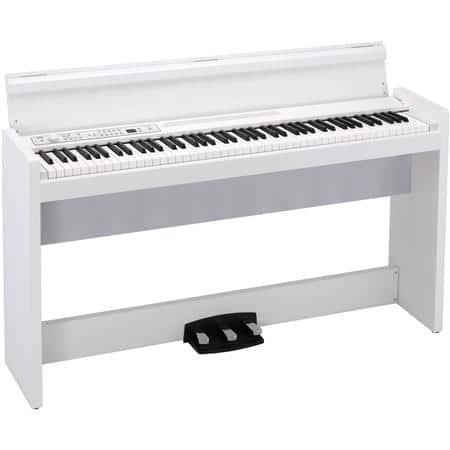 Korg LP 380 88-Key Lifestyle Digital Piano (White)