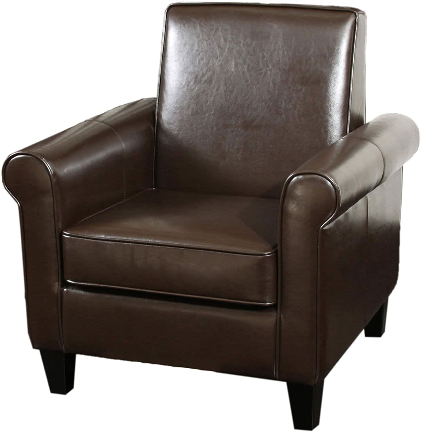 Christopher Knight Home Freemont Bonded Leather Club Chair