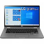 """LG Gram 2-in-1 14"""" FHD Touch Laptop w/ Stylus (i7-10510U 16GB 1TB SSD 2.53lbs)"""