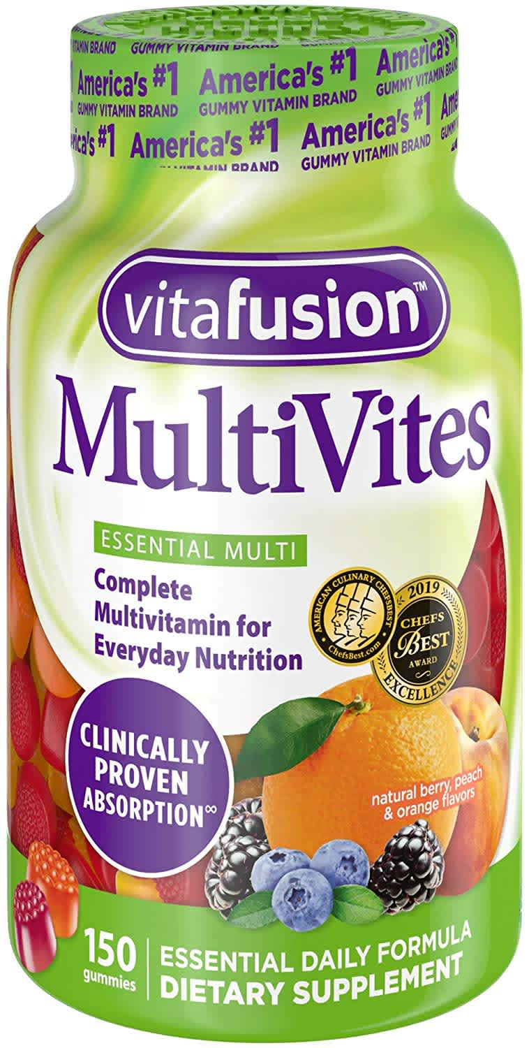 Vitafusion MultiVites 150-Count Gummy Adult Vitamins