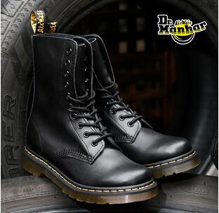 Dr. Martens 1490经典10孔硬皮中性款马丁靴