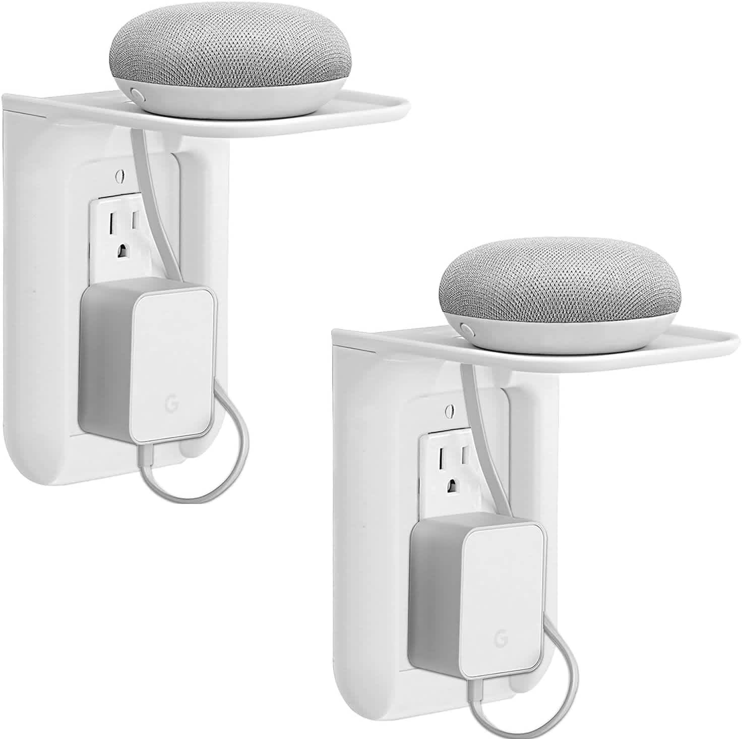 WALI Wall Outlet Shelf 2-Pack