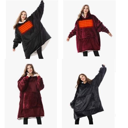 金盒特价!Amazon精选 Venustas 中性 穿着毛毯促销!
