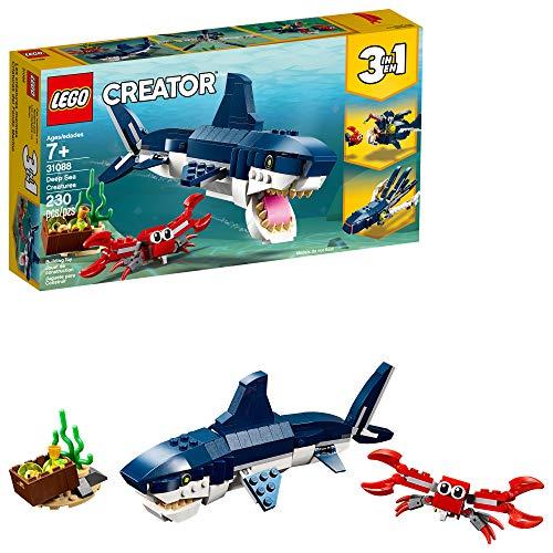 史低价!LEGO乐高 Creator创意百变系列 31088 深海生物