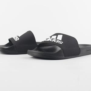 限4码!Adidas 男士澡堂拖鞋