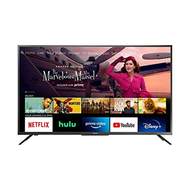 Toshiba 50LF621U21 50-inch Smart 4K UHD with Dolby Vision - Fire TV Edition, Released 2020