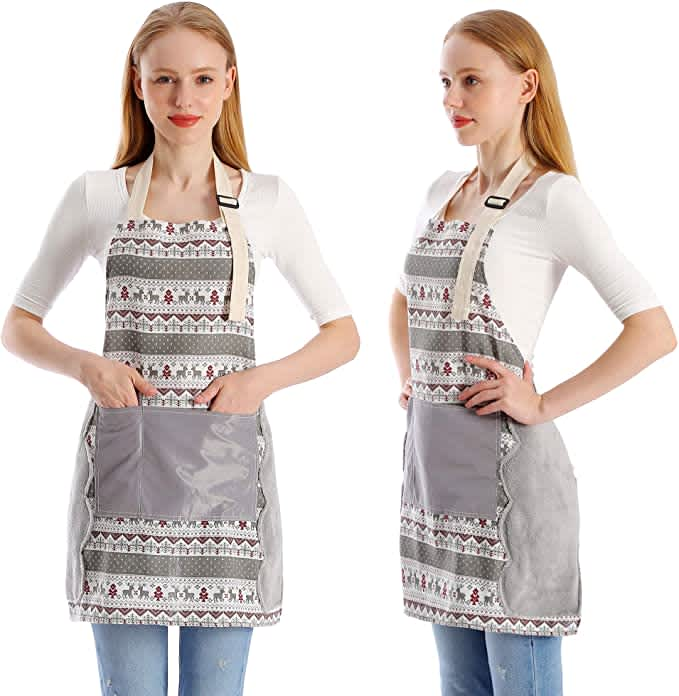 Koorhiere Adjustable Cotton Apron 2-Pack