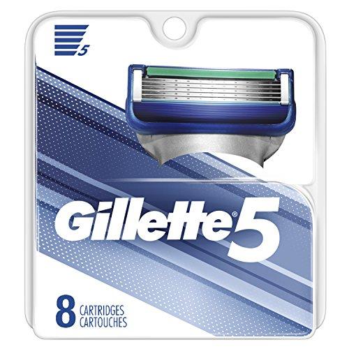 史低价!Gillette 吉列 锋隐5 剃须刀替换刀头 8个装