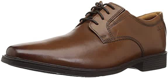 Clarks Men's Tilden Leather Oxfords