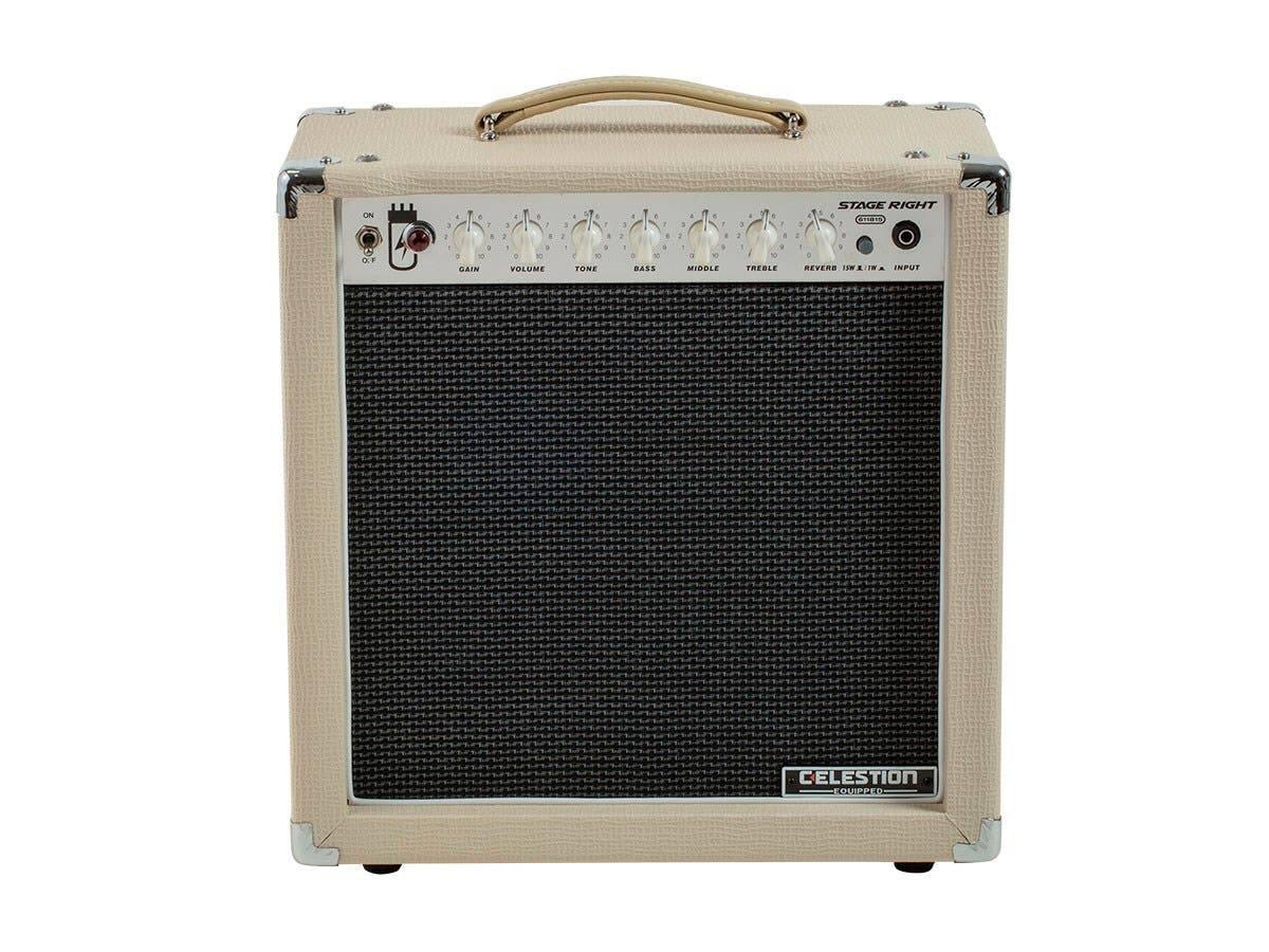 Monoprice 15W 1x12 Guitar Combo Tube Amp w/ Celestion Speaker/Spring Reverb