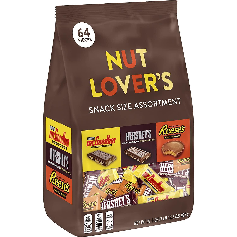 Hershey's Nut Lover's Assortment 31.5-oz. Bag