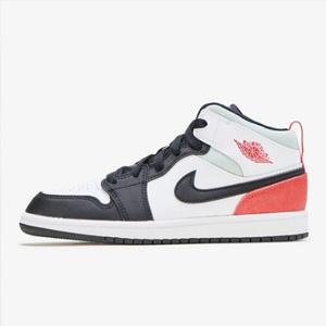 2码补货!Air Jordan 1 Mid AJ中童款篮球鞋