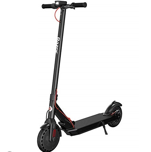 Razor T25 Electric Scooter - Up to 18 Miles Range & Up to 15.5 MPH, Foldable Adult Electric Scooter for Commute and Travel