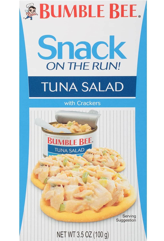 Bumble Bee Snack on the Run! 3.5-oz. Tuna Salad w/ Crackers Kit