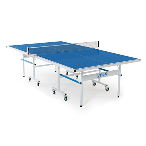 STIGA XTR Indoor/Outdoor Table Tennis Table 95% Preassembled Out of the Box with Aluminum Composite Top for All-Weather Performance, 180 lbs. (T8575W)