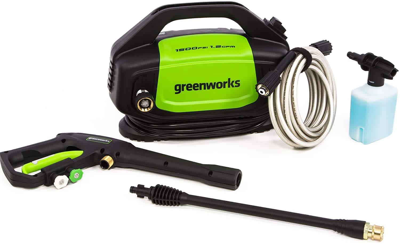 Greenworks 1,500-PSI Electric Pressure Washer