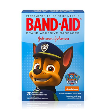 Band-Aid Brand Adhesive Bandages Featuring Nickelodeon Paw Patrol