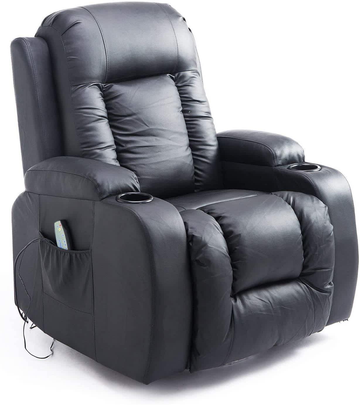HomCom Reclining Massage Chair