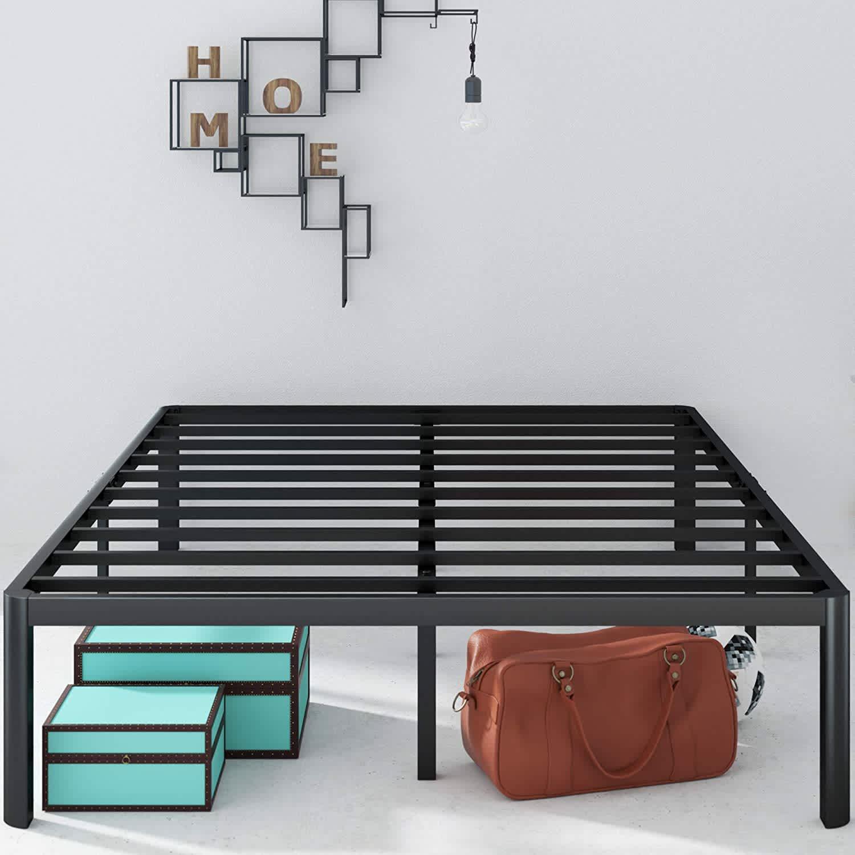"""Zinus Van 16"""" Metal Platform Queen Bed Frame"""