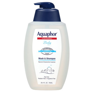 Aquaphor优色林 宝宝天然温和洗发沐浴二合一750ml