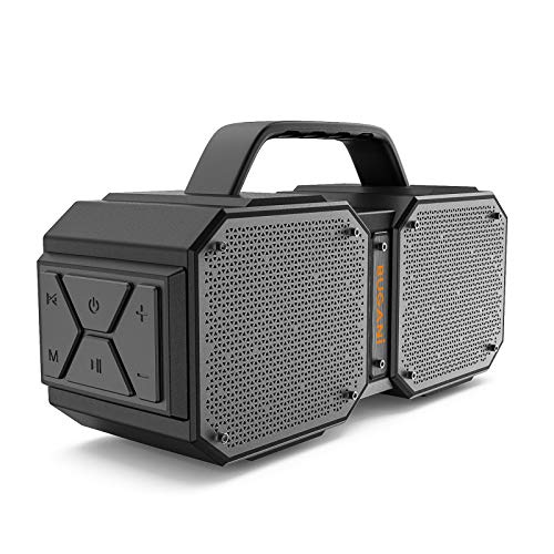 50% off! BUGANI Bluetooth Speaker, M83 Portable Bluetooth Speakers 5.0, 40W Super Power, Rich Woofer, Stereo Loud. Outdoor Bluetooth Speaker Suitable for Family Gatherings and Outdoor Travel