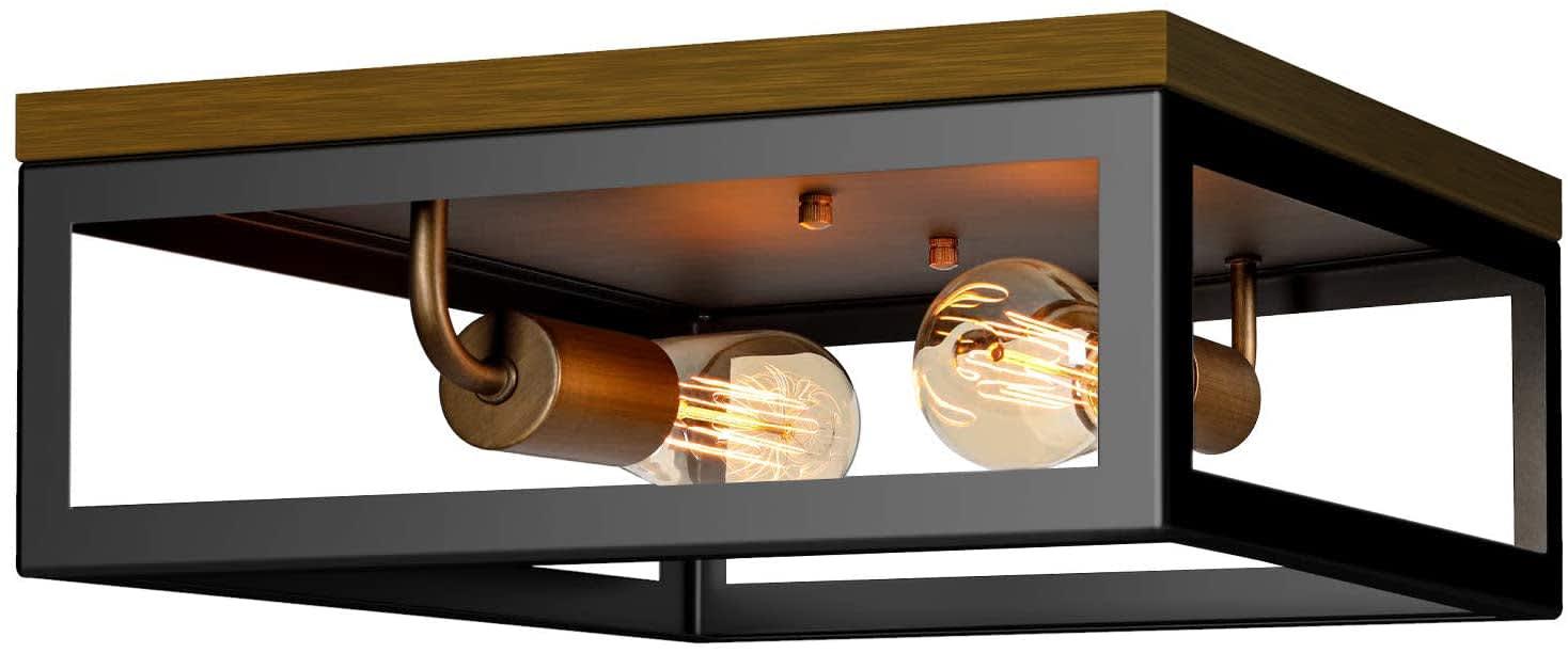"Brightever 13"" Flush Mount Ceiling Light Fixture"