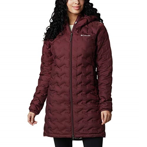 Columbia Womens Delta Ridge Long Down Jacket