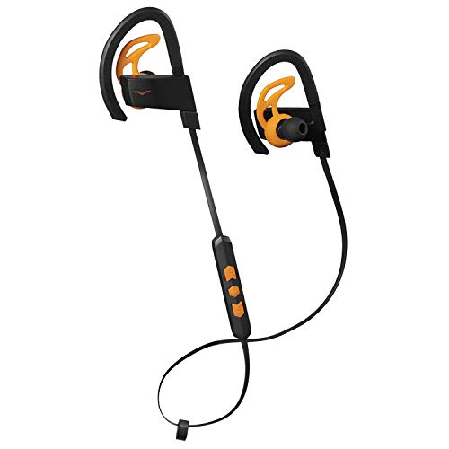 V-MODA BassFit in-Ear Wireless Sport Headphones - Black