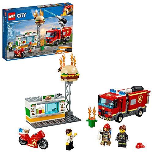 LEGO 乐高City 城市系列60214 汉堡店消防救援